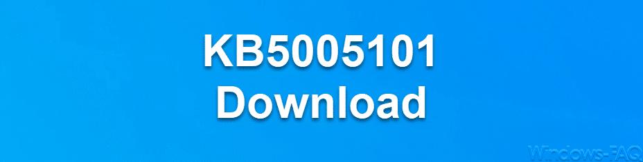 KB5005101 Download