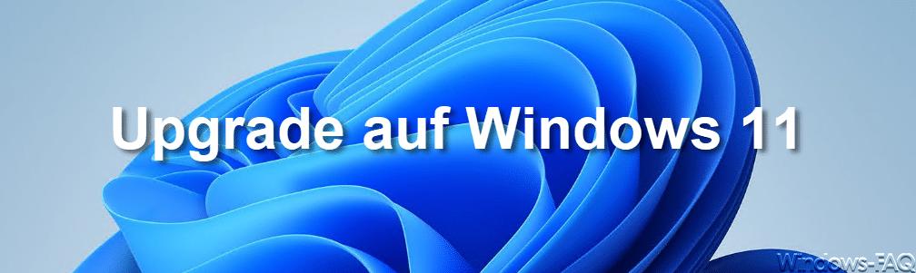 Upgrade auf Windows 11